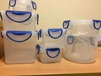 Containers/Tupperware