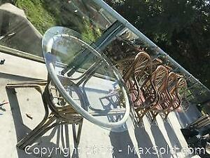 Patio Table and Chairs C