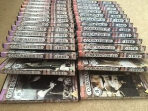 Set of Coronation Street DVDs from 1960-1989