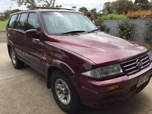 1996 SSANGYONG MUSSO Flinders Park Charles Sturt Area Preview