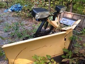 Fisher 8.6 minute mount plow for parts or repair