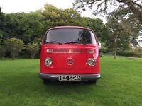 Late Bay VW Camper T2 Devon