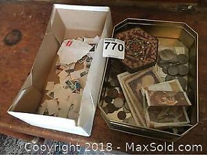 Foreign Currency And Stamps