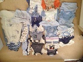 Bundle Boys 0-3 months clothes, including jasper conran