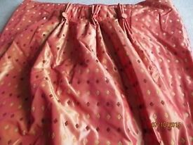"""Large Curtains fully lined with Blackout Lining 139""""W x 102""""L"""
