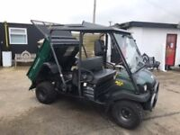 KAWASAKI 3010 MULE 4X4, AUTO, 2008 YEAR 4 SEATER, DIESEL....Finance Available