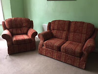 Mark&Spencer Furniture 2 Seat Split Back Compact Sofa and Love Seat