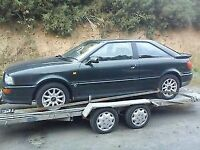 audi cabriolet coupe 80 90 100 Breaking Spares Doors gearbox Bonnet engine PARTS cookstown