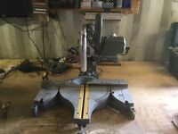 Ten inch electric mitre saw
