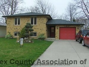 HOUSE FOR RENT DEVONSHIRE HEIGHTS WINDSOR ONTARIO