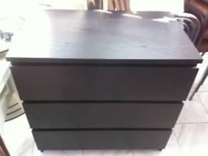 1 Wooden Dark Brown set of Chesty Draws Matraville Eastern Suburbs Preview