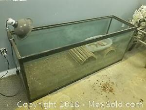 Big Glass Tank, for Fish or Reptiles