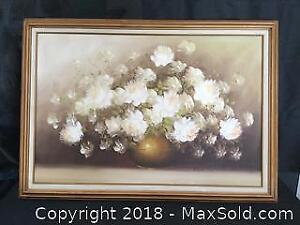 Irene Cox Oil on Canvas Painting Signed