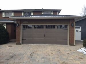 Timely & affordable service for your garage door or opener Cambridge Kitchener Area image 3