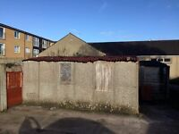 Concrete Garage free to disantle and collect