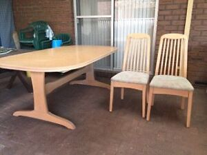 Dinning Table Chairs Wall Unit Marangaroo Wanneroo Area Preview