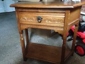 Hall console table h73/w80/d38cm.