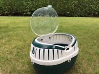 Small pet carrier, suitable for hamster, gerbil or guinea pig