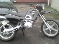Swap for 2stroke pitbike scrambeler 125 and over must be 2stroke Vulcan Supermoto sm 125