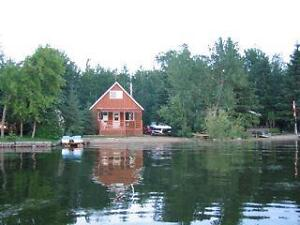 Lake Front Cabin at Big Shell Lake for rent