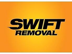 SWIFT HOUSE REMOVALS, MAN & VAN HIRE, LICENSED WASTE REMOVALS, RUBBISH COLLECTION, VAN HIRE, STORAGE