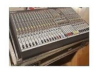 Allen and Heath Mixing desk