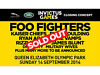 Invictus Games Closing Concert Ticket-Foo Fighters|Kaiser Chiefs|Ellie Goulding|Ryan adams|Vamps.. Clapham, London