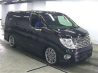 FRESH IMPORT 2005 FACE LIFT NISSAN ELGRAND HIGHWAY STAR V6 AUTOMATIC BLACK