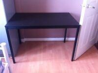 Black table or desk