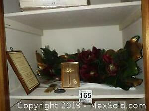 Plaques, Religious Music Box, and More A