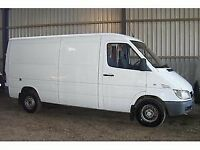 2002 Mercedes sprinter mwb. Breaking. All parts available