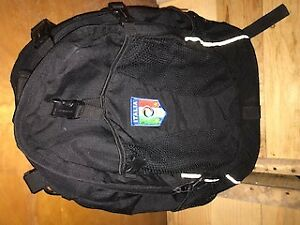 back pack school bag italia black