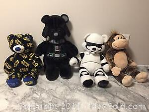 Build A Bear Lot Mostly Star Wars But Some Others