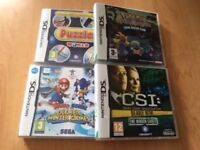 Nintendo DS games - 4 for £5