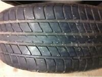 Two Dunlop SP2000E Tyres