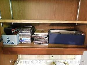 Cassettes And CDs A