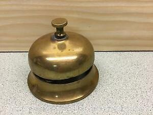 Large Brass Old Service Bell A