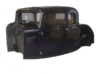 1932 Ford 5 Window Coupe Fiberglass Body 32 Duece New