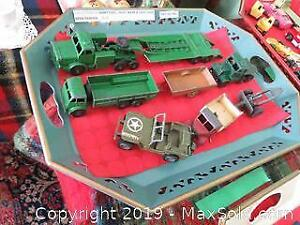 Collection Of Dinky Toys A