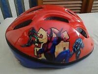 Boys Spiderman Bicycle Helmet