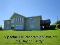 180 Degree Bay View Contemporary on 5+ Acres, Annapolis Valley