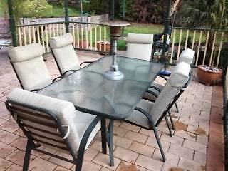 7 Piece Outdoor Dining Setting Warranwood Maroondah Area Preview
