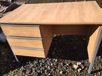 10 Commercial High Quality Wooden Task Desks *Job Lot*
