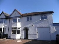 **RARE EXTENDED 5 BEDROOM SEMI DETACHED, HALL GREEN**