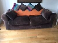Habitat Sofa 3 Seater Louis