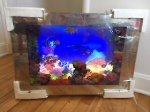 Motion Picture Lit Up-Aquarium65x45 cm