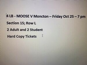 Halifax Mooseheads - see picture