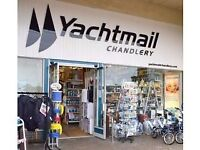 Full-time Sales Assistant required in Busy Yachtmail Chandlery on Lymington Town Quay