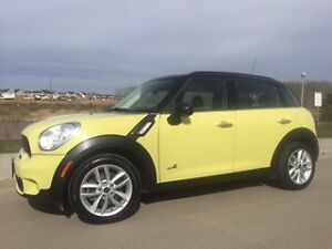 2012 MINI Cooper S Countryman, AWD, NAVI, LOW KMS