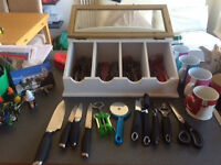 Plates, Cups, Glasses, Cuttlery, Pans, Kitchen items, Juice Machine FOR SALE FANTASTIC OPPORTUNITY